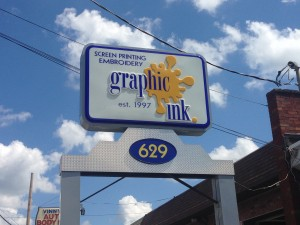 Graphic Ink in East Providence, RI.