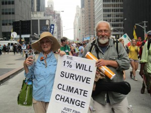 South county residents at the People's Climate March