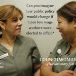 Telling a story about Councilwoman Castillo