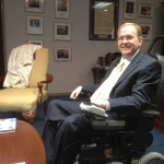 Congressman Jim Langevin at his Warwick office. (Photo by Bob Plain)