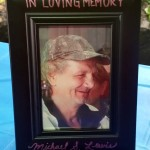 A vigil for Michael Lewis, who died homeless, but not unloved
