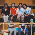 Moms Demand Action walks out on Mattiello during prayer for Orlando