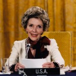 Letting others speak about Nancy Reagan's death