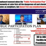 National Grid lists groups that don't exist in their Public Participation Plan