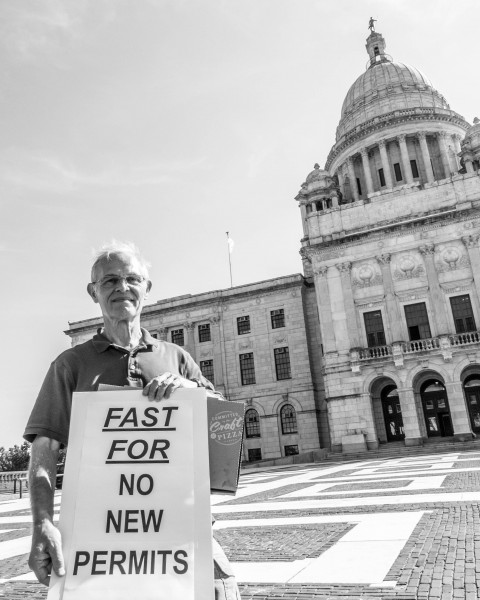 Peter Nightingale at the State House (Photo by Pia Ward)