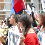 Respect indigenous People's Rights End colonialism