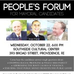 The People's Forum: a mayoral debate for the people of PVD