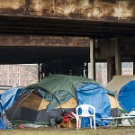 One of Providence's Tent Cities (Via the Rhode Island Coalition for the Homeless)
