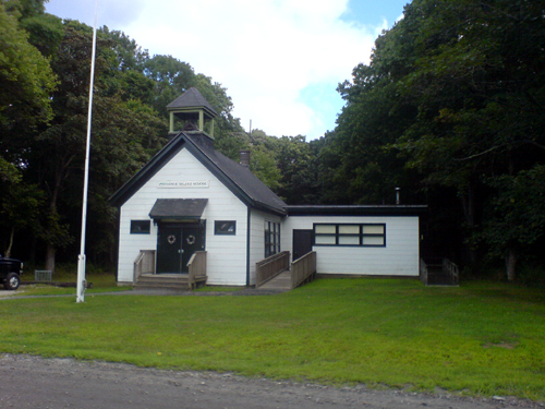 Prudence Island Schoolhouse, the smallest public school in Rhode Island. (Photo courtesy of Wikipedia)