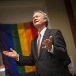 Gov. Chafee pleads for Rhode Island to recognize equal rights for same sex couples.