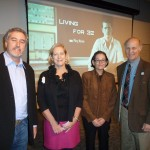 Teny Oded Gross, Rep. Linda Finn, Council President Arlene Hicks and Dr. Paul Bueno de Mesquita