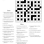 Cryptic Crossword #1