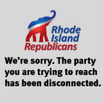 RI GOP's fatal disconnect