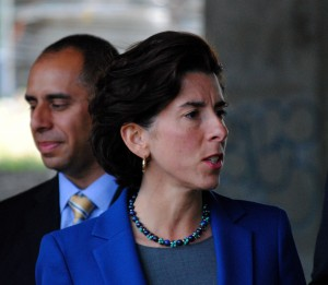 Gina Raimondo no champion of reproductive rights