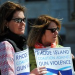 Record numbers at State House 'Rally Against Gun Violence'