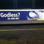 Godless billboard and bus ads appear in Rhode Island