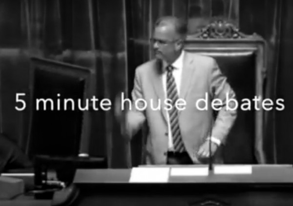 5 minute house debate