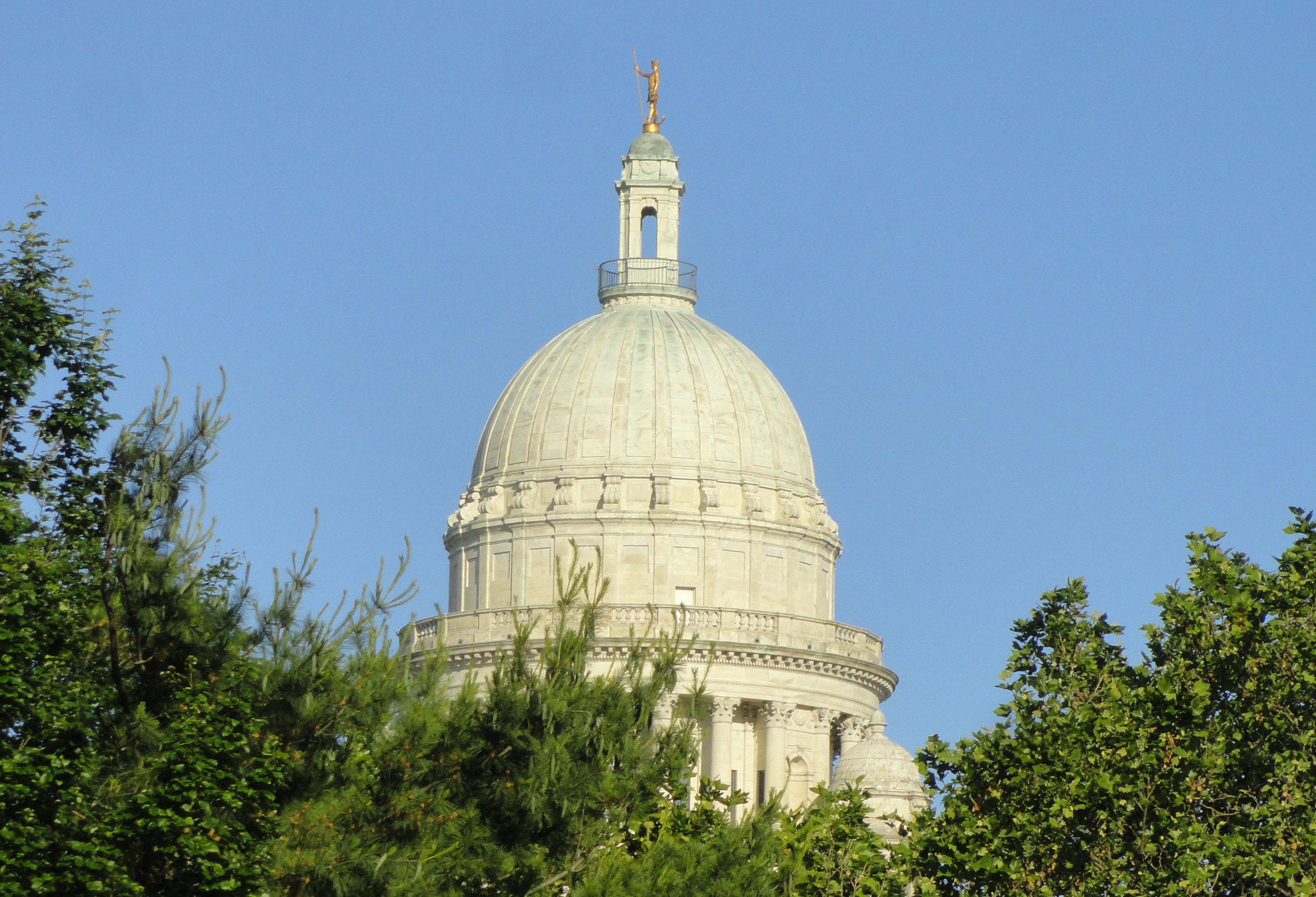 State House Dome from North Main Street
