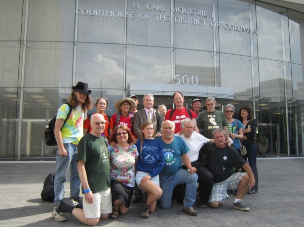 Support for the Five who were arrested for blocking the FERC crime scene