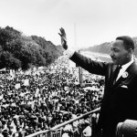 """Free at last, free at last, Thank God Almighty, we are free at last!"" Dr. Martin Luther King, Jr., delivered 28 August 1963, at the Lincoln Memorial, Washington D.C."