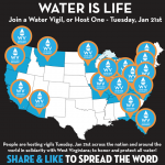 Water Vigils Around the World TONIGHT @ 6 Solidarity with W VA