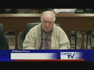 William Perry, member of Rhode Islanders for Immigration Law Enforcement.