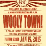 Come to the Wooly Fair Town Meeting Tonight
