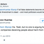 Ed Achorn, Union of Concerned Scientists debate ProJo editorial