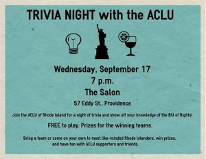 ACLU Trivia Night