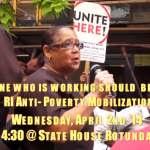 Anti-poverty coalition rallies today for tax equity at State House
