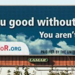 Godless billboards, convention in CT this weekend