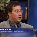 Mark Binder Takes Campaign to TV