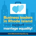 Business Community Gets Behind Marriage Equality