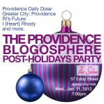 TONIGHT: The Providence Blogosphere Post-Holidays Party