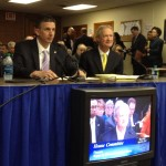 Chafee, Brien Explain Need for Municipal Aid Bills