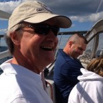 Sailing with Governor Chafee