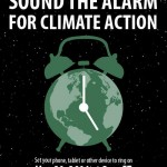 Today at 5pm: Sound your alarm for climate change
