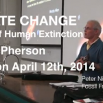 Climate change and human extinction at URI