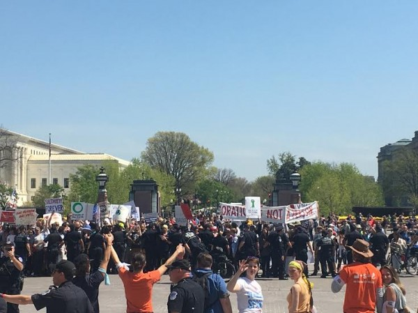 democracy spring arrests