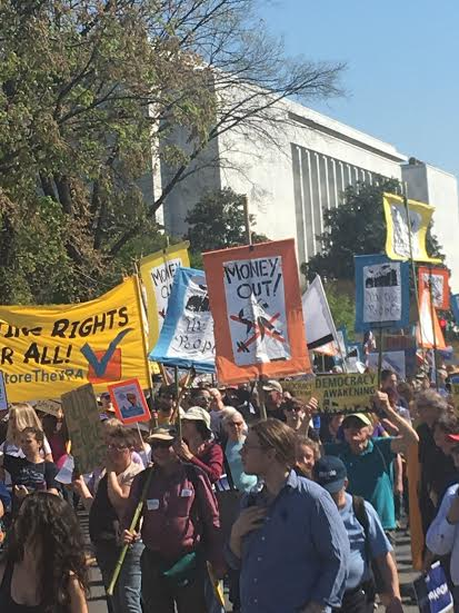 democracy spring march