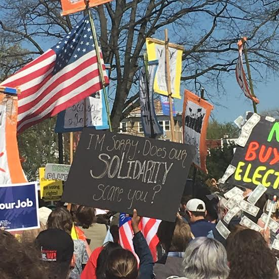 democracy spring solidarity