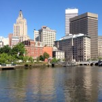 Downtown Providence from the Providence River. (Photo by Bob Plain)