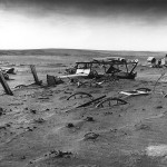 Much of life got buried under the Dust Bowl. This picture is from Dallas, South Dakota in 1936 and is courtesy of Wikimedia Commons.