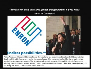 enron pension