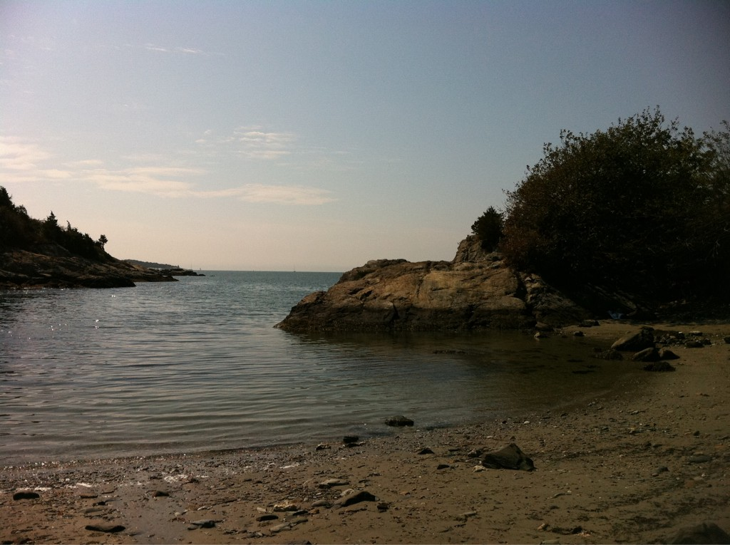 Fort Wetherill State Park in Jamestown.