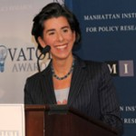 Raimondo pushes pension cuts to Bay Area CEO's