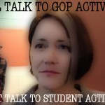 Gist won't meet with students, will meet with GOP