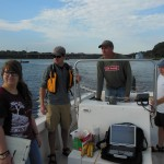 Looking for oxygen in Narragansett Bay