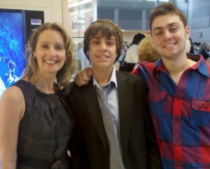 Jean Ann Guiliano and her two sons. Photo courtesy of EG Patch.