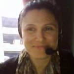 Screenshot from g-chat of Josie Shagwert in Gaziantep.